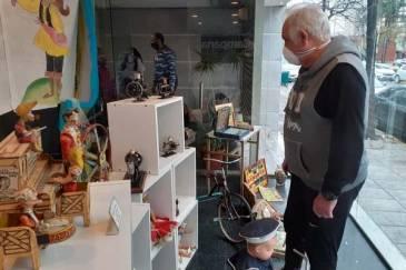 Desde este viernes, se exhiben juguetes antiguos en el Edificio 6 de Julio