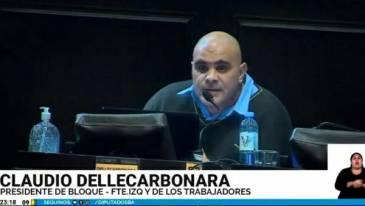 """Claudio Dellecarbonara: """"Kicillof suma más deuda a la que dejó Vidal"""""""