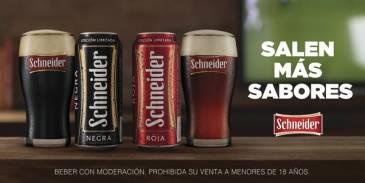 Salen más sabores de Schneider: Roja y Negra