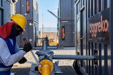 Aggreko suministra 9 MW de potencia utilizando gas del mismo yacimiento en Neuquén