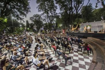 San Isidro: comenzó el ciclo gratuito de espectáculos al aire libre