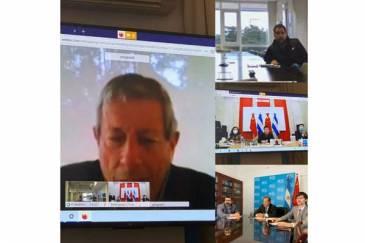 Reunión clave entre ARSAT y representantes de las embajadas de China y Argentina