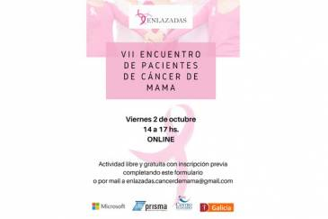 VII encuentro de pacientes de cáncer de mama