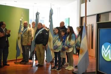 Se realizó el acto homenaje al General José de San Martín