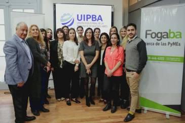 Encuentro de FOGABA y la UIPBA con mujeres empresarias bonaerenses