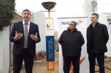 La Municipalidad de Luján y Naturgy inauguraron la red de gas natural de los barrios Covilu y San Juan de Dios