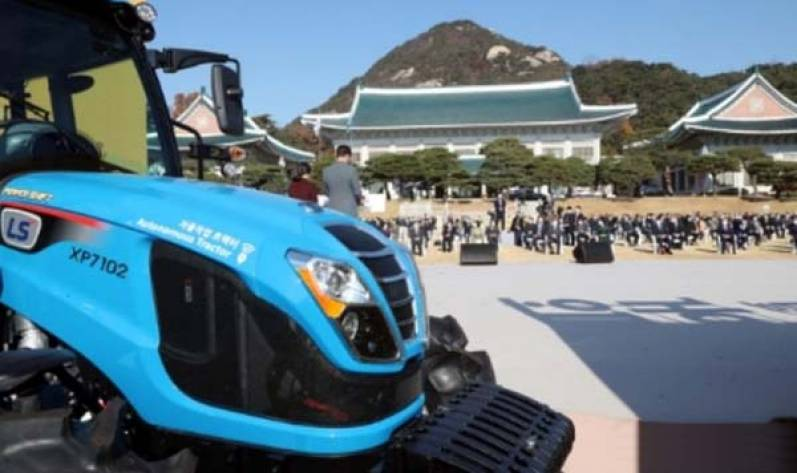 FPT Industrial-powered tractor takes center stage at national Farmers' Day