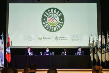 Escobar Sostenible: Ariel Sujarchuk presentó su agenda verde de proyectos de ordenanzas, convocó a la sociedad civil al debate ambiental y firmó convenios con el ministro Cabandié