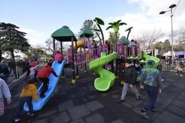 Con mucha alegría y diversión, las familias de Tigre celebraron el Día del Niño