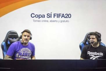 Ya se juega el Torneo Fifa 20 en San Isidro