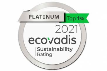 CNH Industrial obtiene la medalla EcoVadis Platinum en la evaluación anual de sustentabilidad