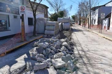 Avanzan las obras hidráulicas en San Fernando