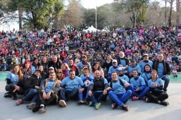 Más de diez mil personas festejaron el Día del Niño en la Plaza Italia