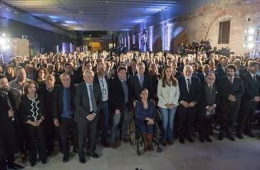"""Vidal acompañó a Macri en la presentación del libro """"Justicia perseguirás"""""""