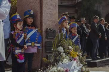 Campana conmemoró el 169º aniversario del paso a la inmortalidad de San Martín
