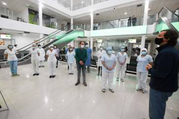 San Fernando conmemoró el Día de San Cayetano en el Hospital Municipal que lleva su nombre