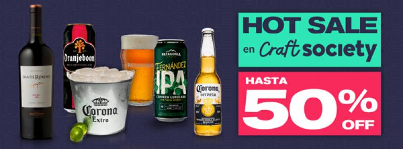 Craft Society se suma al Hot Sale con ofertas imperdibles