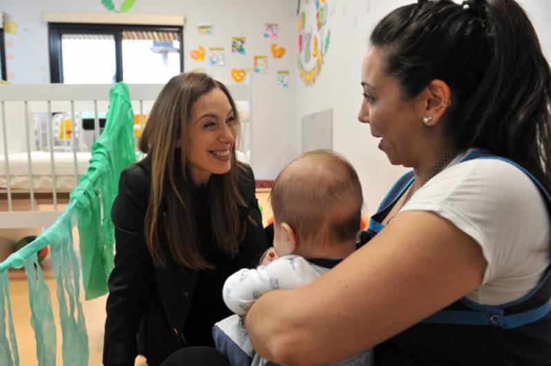 Resultado de imagen para VIDAL VISITÓ UN CENTRO DE DESARROLLO INFANTO FAMILIAR Y UN CENTRO DE SALUD EN SAN MIGUEL
