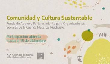 ACUMAR lanzó junto a la UNLA una línea de apoyo a proyectos ambientales comunitarios