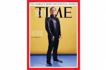 Jensen Huang, en la lista de TIME de las 100 personas más influyentes del mundo