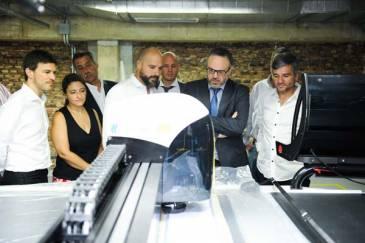 Zabaleta recibió a los ministros de producción de la nación y de la provincia