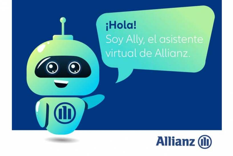 Allianz presenta a Ally, su nuevo asistente virtual