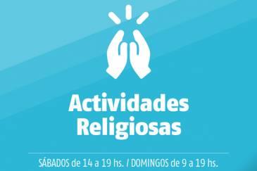 Municipio informa que pueden reanudarse las Actividades Religiosas, bajo estricto protocolo sanitario, emitido por el gobierno provincial