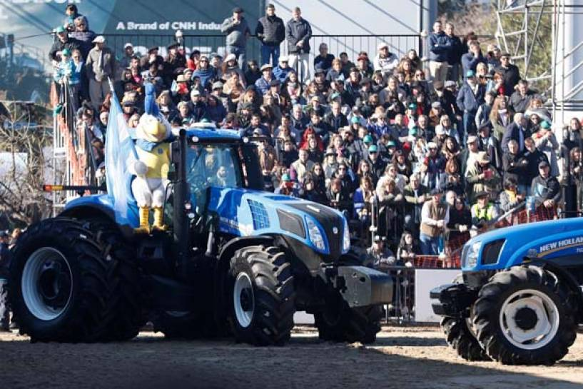 Gran participación de New Holland Agriculture en La Rural
