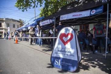 Corazón Saludable en San Isidro: 2.000 vecinos se realizaron chequeos gratuitos en la vía pública