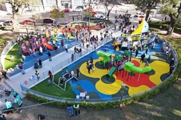 La Ciudad estrena 9 patios de juegos completamente renovados