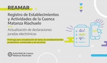 Los establecimientos de la Cuenca Matanza Riachuelo deberán actualizar sus datos ante ACUMAR a partir del 1 de diciembre