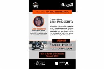 Corven Motos webinar: convertite en un gran Motociclista
