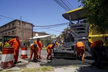 Corte de calles por obras pluviales en Olivos