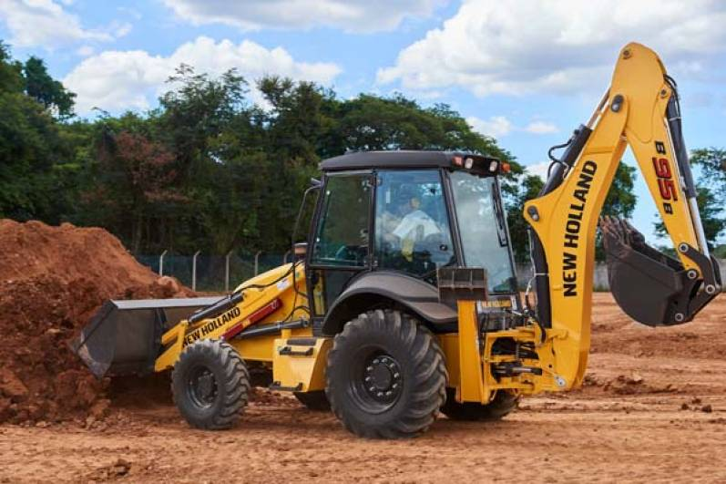 New Holland Construction muestra su maquinaria en Expoagro en La Rural de Corrientes