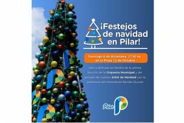 Festejos de Navidad en Pilar