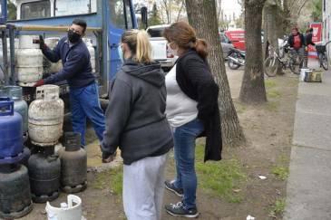 Programa Hogar: más vecinos de Tigre accedieron a la garrafa social