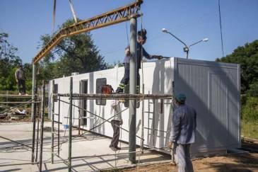 Entró en su etapa final la construcción del nuevo Centro de Operaciones del SAME
