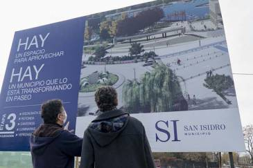 Cómo será el acceso principal al parque público del Puerto de San Isidro