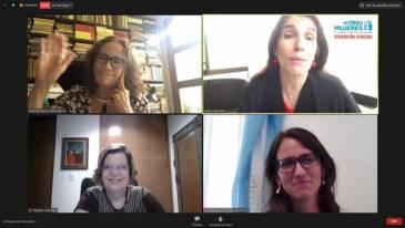 Diálogos sobre las estrategias de los feminismos en los gobiernos progresistas