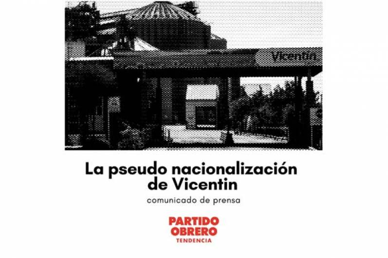 La pseudo nacionalización de Vicentin