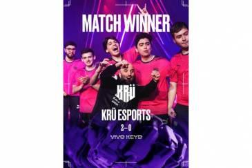 KRÜ esports vence a Vivo Keyd, de Brasil, en VALORANT Masters y asegura su lugar en Playoffs