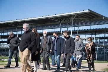 Autoridades de ACUMAR, del Municipio de Cañuelas y del Juzgado Federal recorrieron las instalaciones del nuevo Mercado Agroganadero
